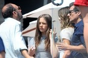 Celebrities attending Joel Silver's Annual Memorial Day Party at his home in Malibu, California on May 26, 2014. <br /> <br /> Pictured: Joel Silver, Len Wiseman, Kate Beckinsale, Lily Mo Sheen