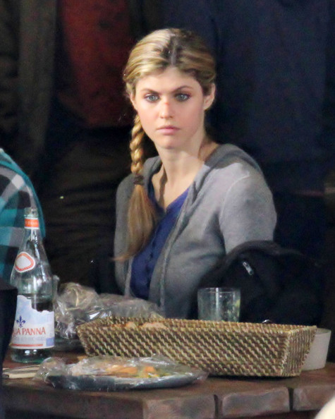 "Alexandra Daddario in Stars On The Set Of ""Percy Jackson ..."