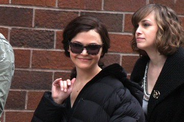 Ginnifer Goodwin Stars On The Set Of 'Something Borrowed' In New York