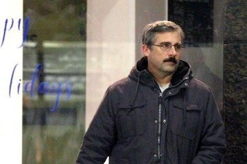 Steve Carell Stars On The Set Of 'Last Flag Flying'