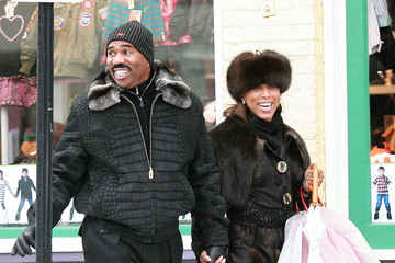 Marjorie Bridges Steve Harvey And Wife Marjorie Out Shopping In Beverly Hills