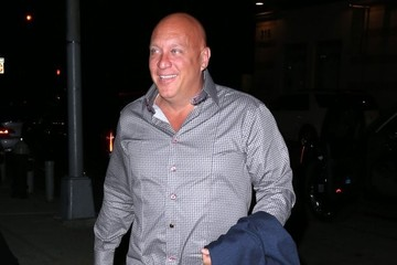 Steve Wilkos Steve Wilkos Out And About In NYC