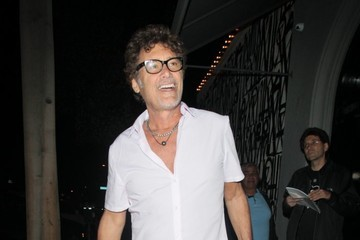 Steven Bauer Celebs Enjoy a Night Out at Craig's
