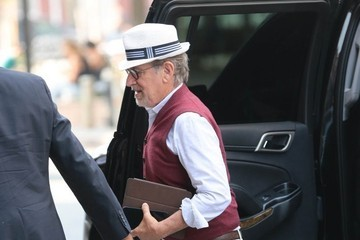 Steven Spielberg Steven Spielberg Heads to a Meeting in NYC
