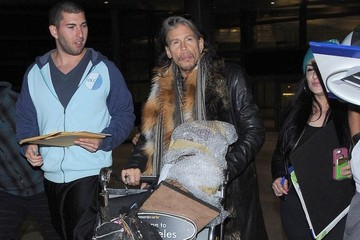 Steven Tyler Steven Tyler Lands In Los Angeles