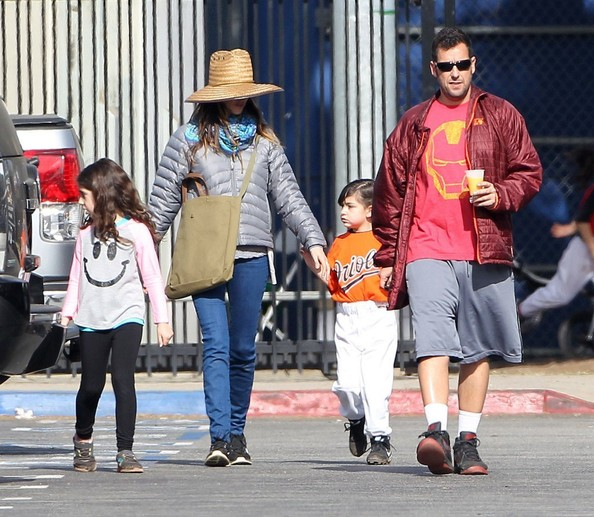 Sunny Sandler Pictures - Adam Sandler & Family Leaving His ...