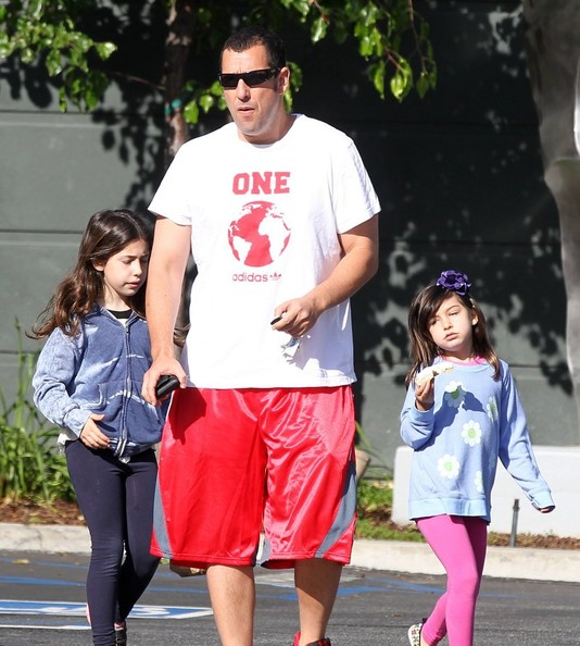 Sunny Sandler Pictures - Adam Sandler Takes His Girls to ...