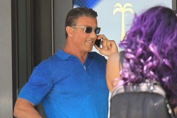 Sylvester Stallone Sylvester Stallone Poses For Cameras In Beverly Hills