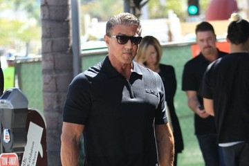 Sylvester Stallone Sylvester Stallone Goes Out for Lunch in Beverly Hills