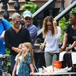 Tabitha Broderick Andy Cohen Stops by Sarah Jessica Parker's Daughters' Lemonade Stand