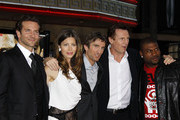 Celebrities attend 'The A-Team' Los Angeles premiere at Grauman's Chinese theatre in Hollywood.