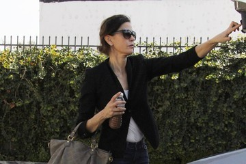 Teri Hatcher Teri Hatcher Leaves the Gym