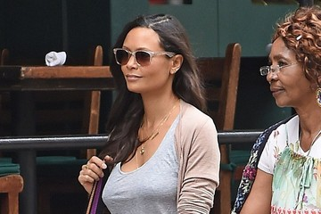 Thandie Newton Thandie Newton Out with Her Son in NYC