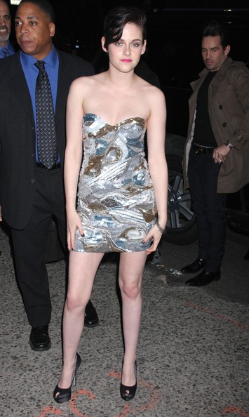 "Kristen Stewart Celebrities at ""The Runaways"" premiere in New York City, NY."