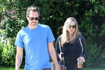 Thomas Sadoski Amanda Seyfried and Thomas Sadoski Visit a Friend in Studio City