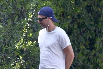 Thomas Sadoski Thomas Sadoski Takes His Dog For A Stroll In LA