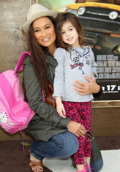 Photo of Tia Carrere & her Daughter  Bianca Wakelin