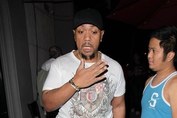 Timbaland Celebrities Dine Out at Craig's Restaurant