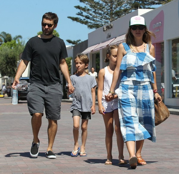 Tobey Maguire Is Seen in Malibu With Family []