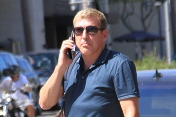 Todd Chrisley Todd Chrisley Grabs Lunch in Beverly Hills