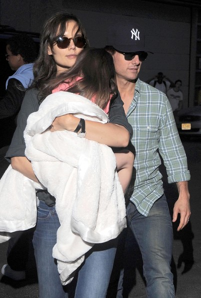 tom cruise and katie holmes and suri. Suri. Tom Cruise, Katie Holmes