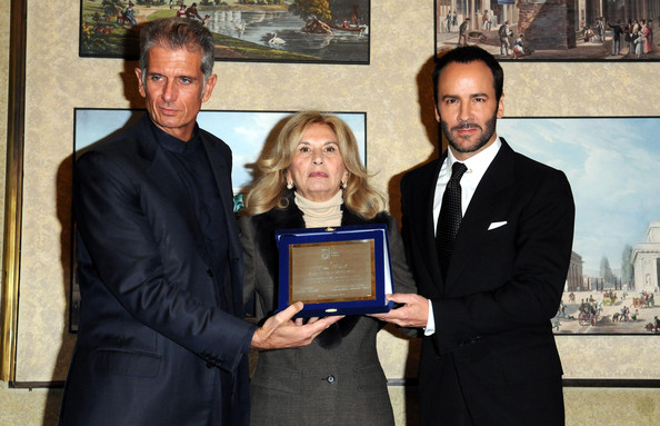 Tom Ford Receiving Award At 'A