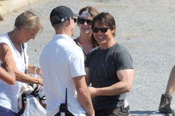 Tom Cruise Scenes from the 'Mission: Impossible 5' Set