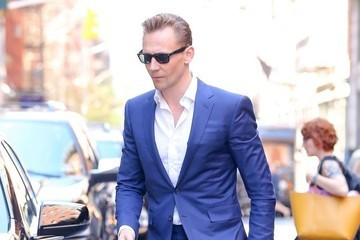 Tom Hiddleston Tom Hiddleston Out And About In NYC