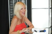 Tori spelling meet and greet with hsn live in las vegas thumbnails actress tori spelling signing copies of her new book uncharted territori and promoting her m4hsunfo