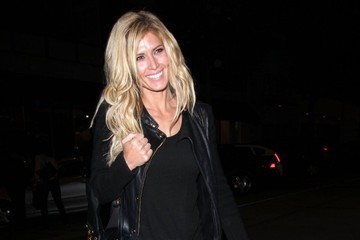 Torrie Wilson Celebrities Enjoy A Night Out At Craig's Restaurant
