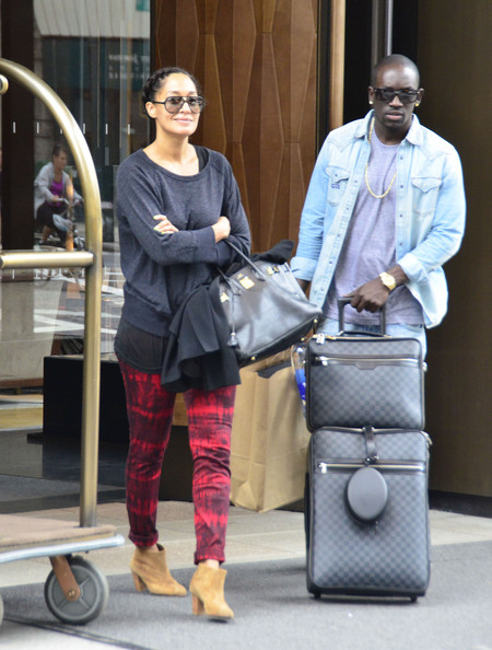Tracee Ellis Ross And Mom Diana Ross Have Lunch At Cafe Med In West ...