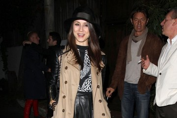 Troian Bellisario Celebs Enjoy a Night Out in Hollywood