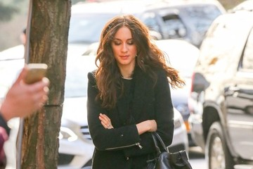 Troian Bellisario Celebrities Visit 'The View' in New York City