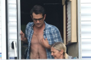 Ty Burrell 'Modern Family' Stars Spotted on Set