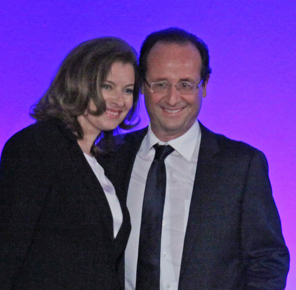 valerie trierweiler photos francois hollande wins the french hollande wins french presidency 594x583