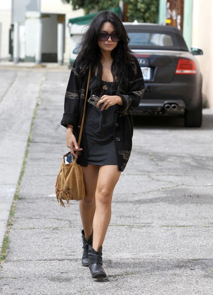 Vanessa Hudgens Actress Vanessa Hudgens spotted out and about in Toluca Lake