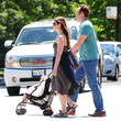 Locklyn Vaughn Vince Vaughn Spends The Day With His Girls