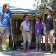 Violet Grohl Dave Grohl and Family Are Spotted out in Calabasas