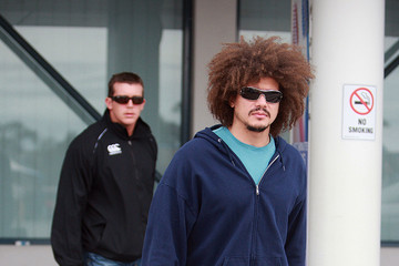 Carlito WWE Superstars Arriving In Perth Airport