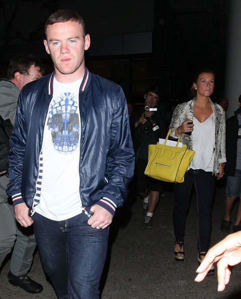 Wayne Rooney Fashion Wayne Rooney Photos Wayne And Coleen Rooney Arriving On A Flight At