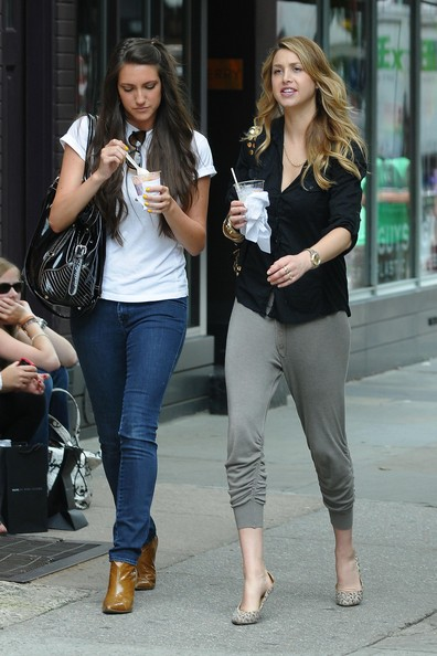 whitney port. Whitney Port and a girlfriend