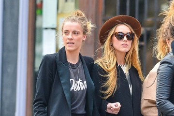 Whitney Heard Amber Heard Out With Friends In NYC