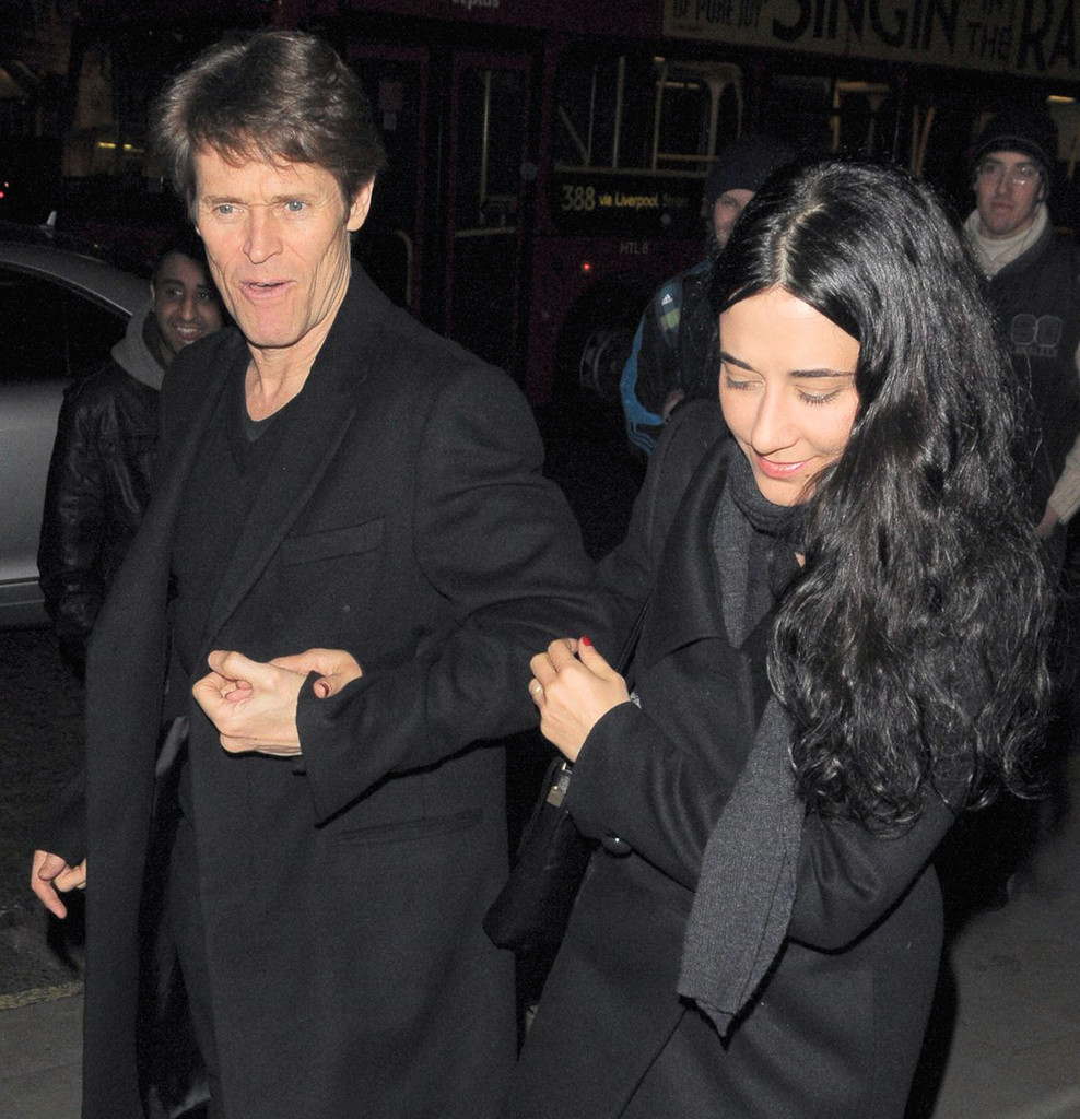 Willem Dafoe in Willem Dafoe And Wife Out In London - Zimbio  Willem Dafoe And Wife
