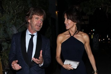 William H. Macy Celebrities Dining at Craig's in West Hollywood