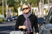Yolanda Foster Runs Errands in Beverly Hills