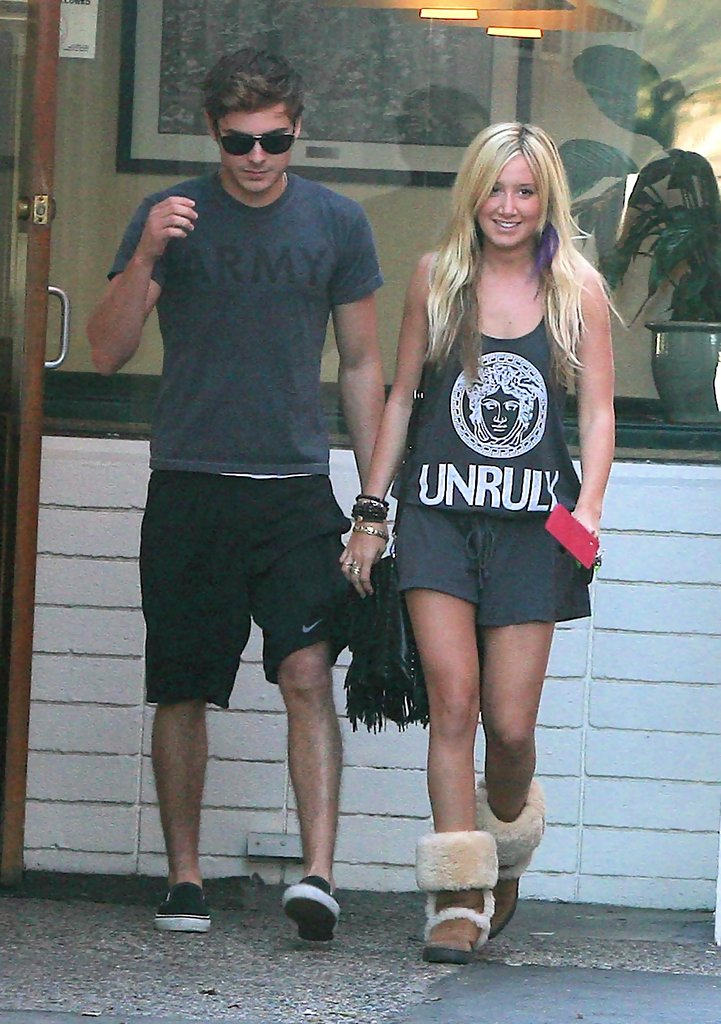 Ashley dating efron tisdale zac