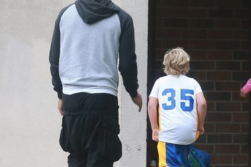 Zuma Rossdale Gavin Rossdale Takes His Boys to Their Game