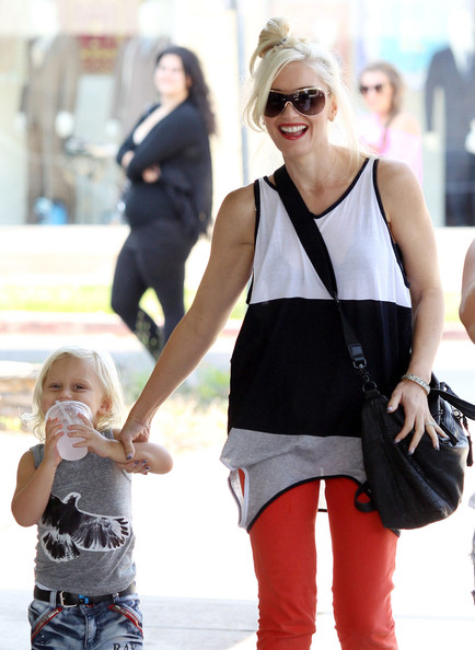 Zuma Rossdale - Gwen Stefani And Son Zuma Out And About In Studio City