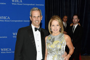 John Molner and Katie Couric attend the 101st Annual White House Correspondents' Association Dinner at the Washington Hilton on April 25, 2015 in Washington, DC.