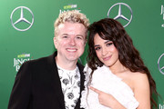 (EDITORIAL USE ONLY. NO COMMERCIAL USE.) (L-R) JoJo Wright and Camila Cabello attend 102.7 KIIS FM's Jingle Ball 2019 Presented by Capital One at the Forum on December 6, 2019 in Los Angeles, California.